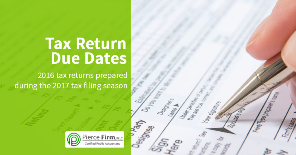 Tax Returns Due Date