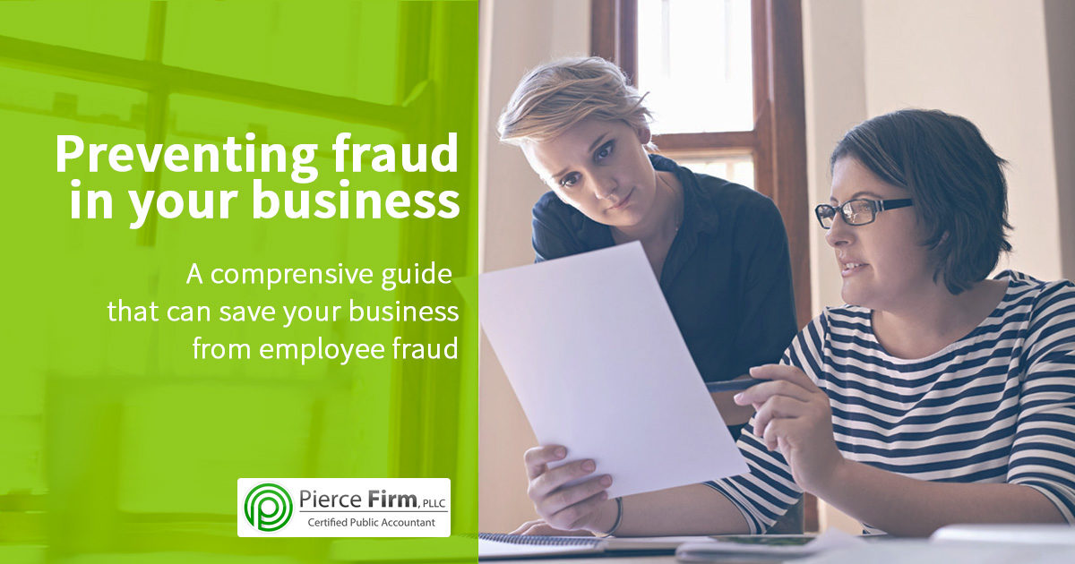 Preventing fraud in your business
