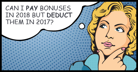 Bonuses deduction