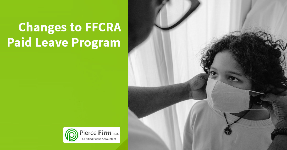 Changes to FFCRA Paid Leave Program