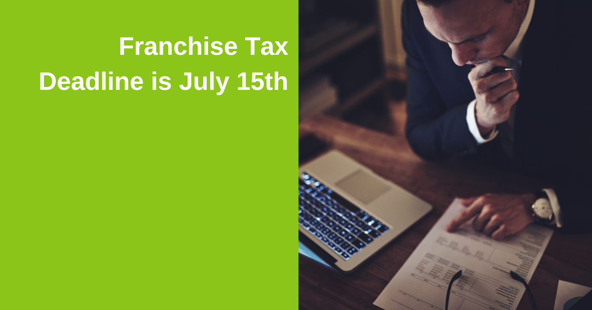 Franchise Tax Dateline